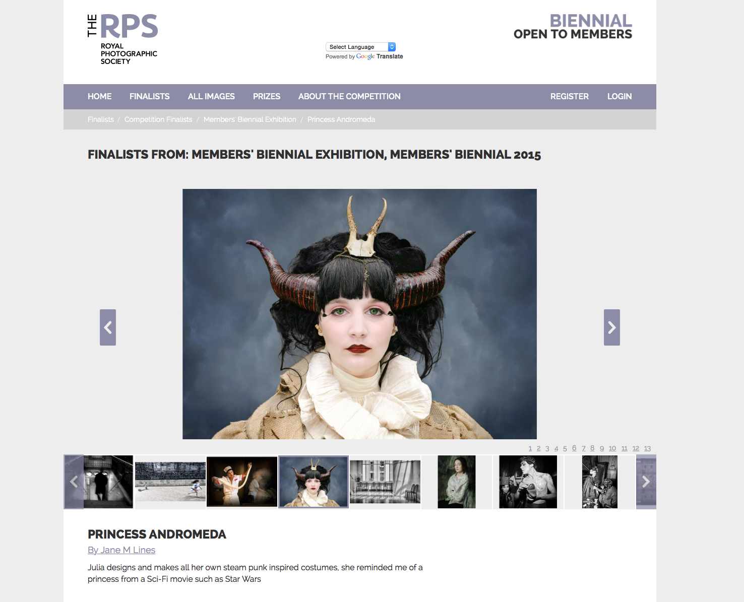 RPS Members Biennial Exhibition 2015