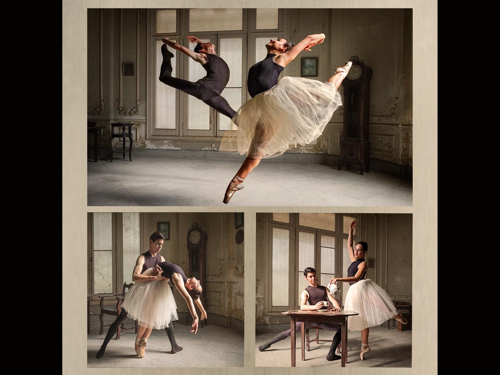 Cuba National Ballet Dancers