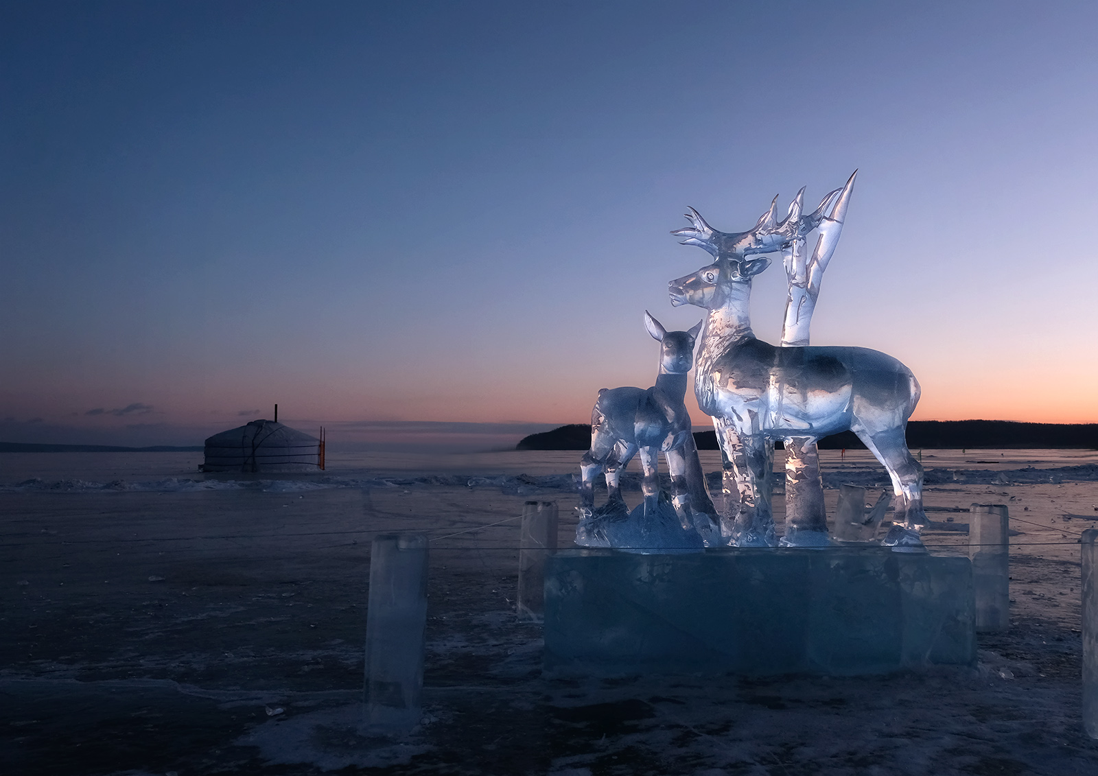 Winter Ice Festival – Khuvsgol Lake Mongolia